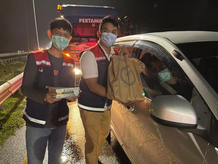 Antisipasi kecelakaan Di Jalan Tol Pekanbaru - Dumai Ada Operasi Ngantuk