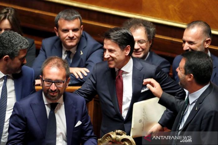 PM Italia mengumumkan mundur dari jabatannya