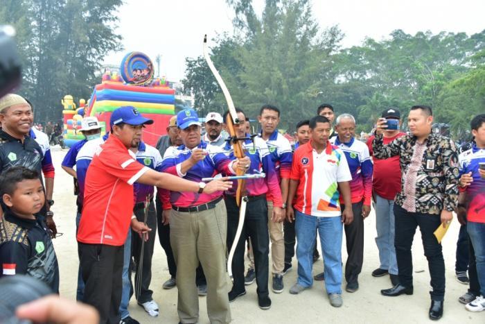Amril Mukminin: Ucapkan Selamat Datang dan Berkompetisi Kepada Seluruh Atlet Panahan Se-Provinsi Riau