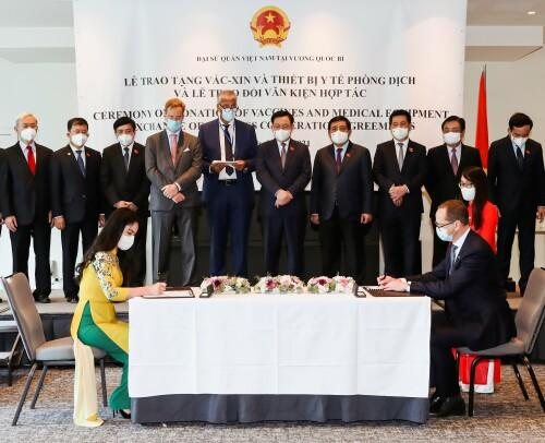 T&T Group and rsted to invest 30 billion USD in offshore wind power development in Vietnam