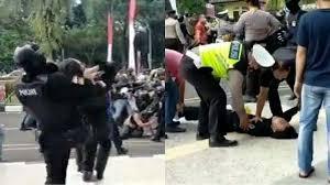 Kasus Polisi Banting Mahasiswa Kompolnas minta Hormati HAM!