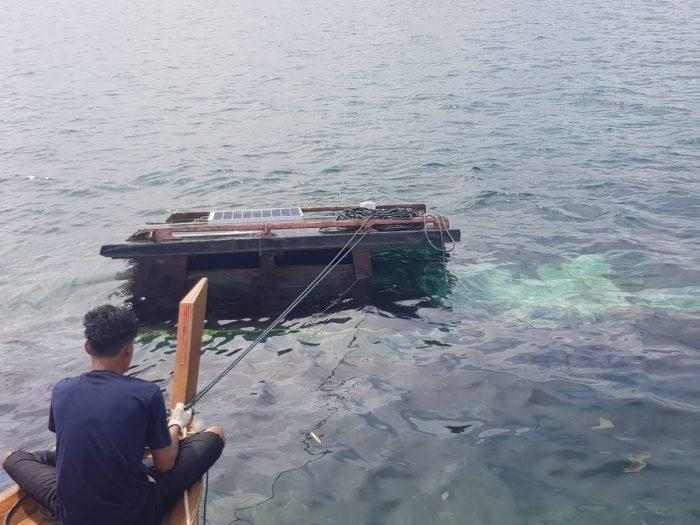 Terjadi Kecelakaan Laut, Kapal KM Batera Melayu Kandas di Perairan Pulau Kekek Lingga